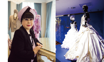 "Choice of ""White Expert"", Icon of Bridal Fashion Designer, Ms. Yumi Katsura"